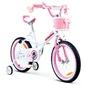 Royal baby jenny 16 ro0104  różowy rowerek dla dziecka + prezent 3d
