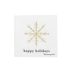 Serwetki papierowe happy holidays bloomingville