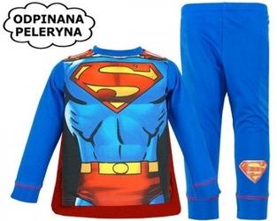 Piżama z peleryną superman 7-8 lat