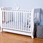 Łóżeczko dziecięce romantica 120x60 troll nursery k. biały