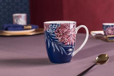Kubek do kawy i herbaty porcelanowy altom design margo 300 ml granatowy