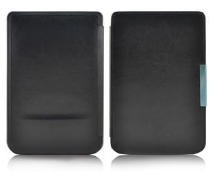 Etui na magnes do pocketbook touch lux 23 626 624 614 czarne - czarny