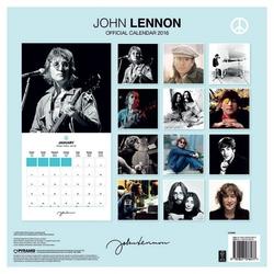 John lennon - oficjalny kalendarz 2016