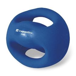 Piłka lekarska z uchwytami 4 kg grab - insportline - 4 kg
