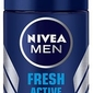 Nivea for men fresh active, dezodorant, roll-on 50ml