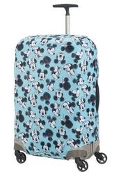 Pokrowiec na walizkę z animacją myszki mini i miki,rozmiar m - mickeyminnie blue