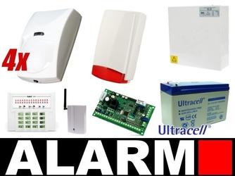 Alarm satel versa 5 led, 4 x pir, syg.zew., gsm - możliwość montażu - zadzwoń: 34 333 57 04 - 37 sklepów w całej polsce