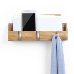 Wieszak na klucze i organizer ścienny cubby umbra drewniany 1004250-390