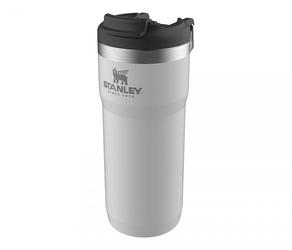 Kubek termiczny stanley twin lock 470 ml travel mug biały