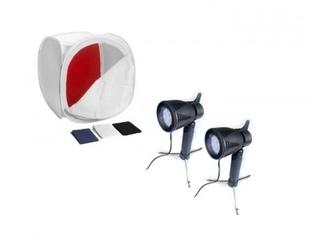 Zestaw namiot bezcieniowy 50cm + 2 lampy
