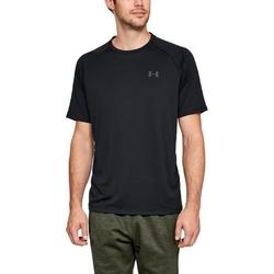 Koszulka męska under armour tech ss tee 2.0 - czarny