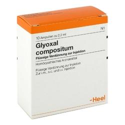 Glyoxal comp. amp.