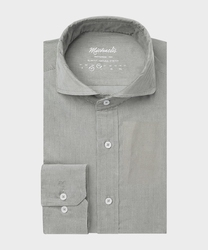 Sztruksowa zielona koszula michaelis 45
