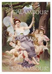 Papier ryżowy Calambour 33x48 cm kobieta anioły