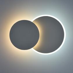 Okrągła, podwójna lampa led, regulowana barwa demarkt techno 637028102