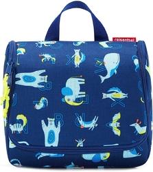 Niebieska kosmetyczka podróżna reisenthel toiletbag kids abc friends rwh4066