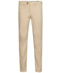 Męskie beżowe spodnie typu chino 3834