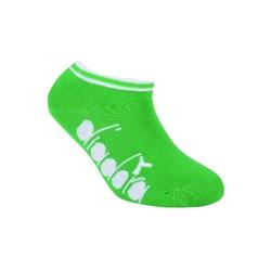 Skarpetki dziecięce diadora invisible 3-pack - zielony