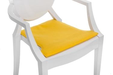 Poduszka na krzesło royal - żółty