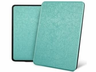 Etui Alogy Leather Smart Case do Kindle Paperwhite 4 niebieskie z połyskiem - Niebieski