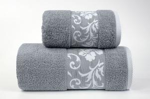 Ręcznik greno glamour jasny popielaty