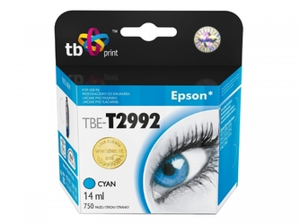 Tb print tusz do epson xp 235 tbe-t2992 cy 100 nowy