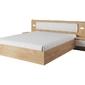 Łóżko nowoczesne ze stolikiem nocnym - 200 x 200 cm - lexi