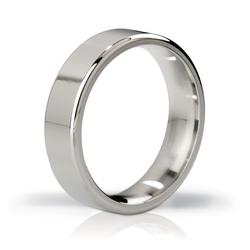 Stalowy pierścień na penisa - mystim his ringness duke polished 55mm