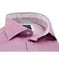 Elegancka koszula męska różowa slim fit 44