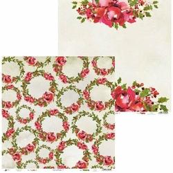 Papier świąteczny do scrapbookingu Rosy Cosy Christmas 30,5x30,5 cm - 06 - 06