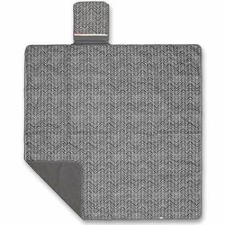 Koc piknikowy skip hop z kieszenią termiczną - grey feather