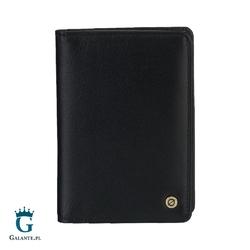 Skórzany cienki portfel brodrene slim wallet s1 rfid