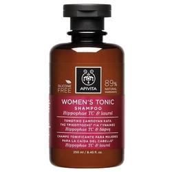 Apivita szampon oczyszczający dla kobiet z rokitnikiem i wawrzynem szlachetnym 250ml - oczyszczanie dla kobiet