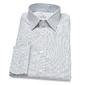 Biała koszula van thorn w niebieską kratę z kołnierzykiem półwłoskim  39