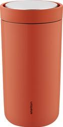 Kubek termiczny stalowy To Go Click 0,2 l pomarańcozwy