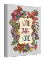 Home sweet home - obraz na płótnie