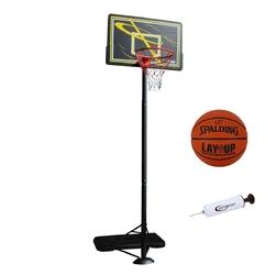 Zestaw kosz do koszykówki master przestawny + piłka spalding + pompka