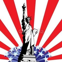Tapeta ścienna statua wolności