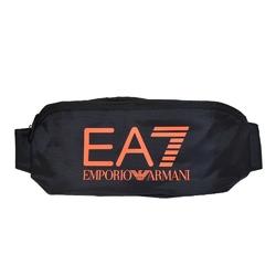 Saszetka nerka ea7 emporio armani black  neon  orange - 9a435 - 9a435