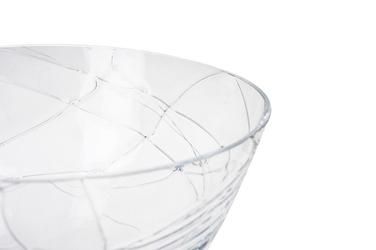 Wrześniak salaterka szklana średnica 21.5 cm wysoka