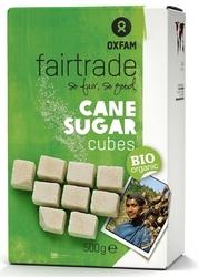 Oxfam | cukier trzcinowy w kostkach 500g | organic - fair trade