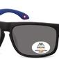 Klasyczne okulary montana mp37a granatowe polaryzacyjne