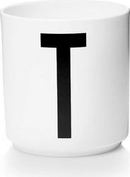 Kubek porcelanowy aj litera t