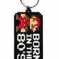 Super Mario Bros Born In The 80s - brelok