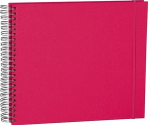 Album na zdjęcia uni maxi mucho czarne karty różowy