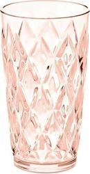 Kubek Crystal L różowy kwarc