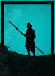 For honor - nobushi - plakat wymiar do wyboru: 50x70 cm