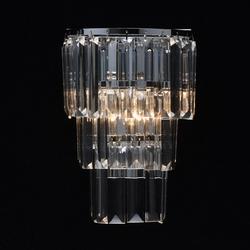 Kinkiet kryształowe sztabki na chromowanej podstawie mw-light crystal 642022601
