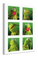 The muppets kermit - obraz na płótnie