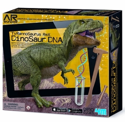 T-REX dna dinozaura zestaw naukowy